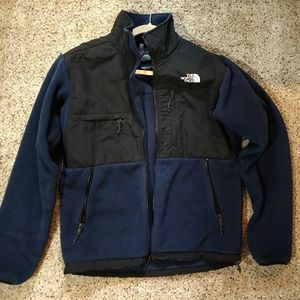 Small Navy North Face Jacket